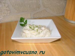 Клецки из сыра и картофеля