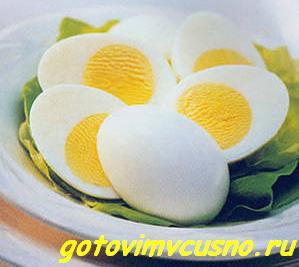 Яйцо в крутую