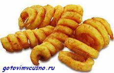 Картофель жаренный во фритюре